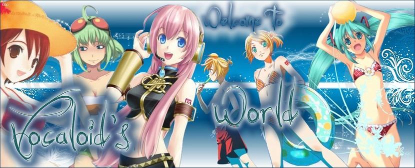 Vocaloid's world