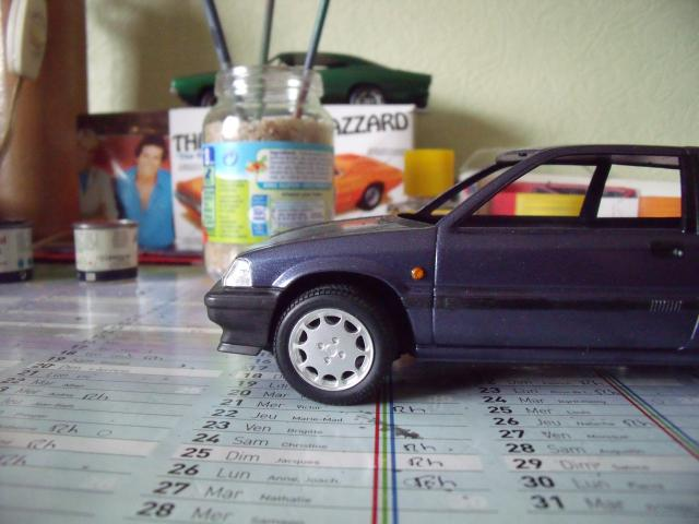 Honda Civic 1,5L GL de 1987. 716608MaTitineenmaquette058