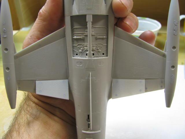 DUO: F-104N (NASA) + F-104G (BAF) Hazegawa 1/48  729885IMG_3396
