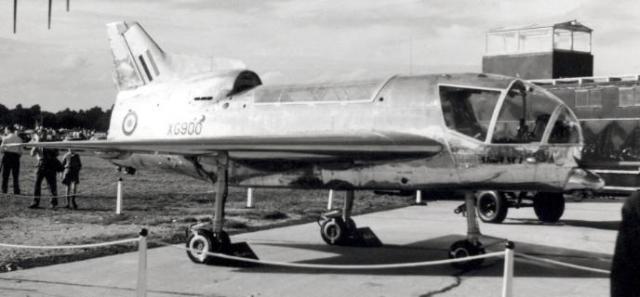 BRITISH AEROSPACE HARRIER ET SEA HARRIER 734113Short_SC_1_Farnborough_1958