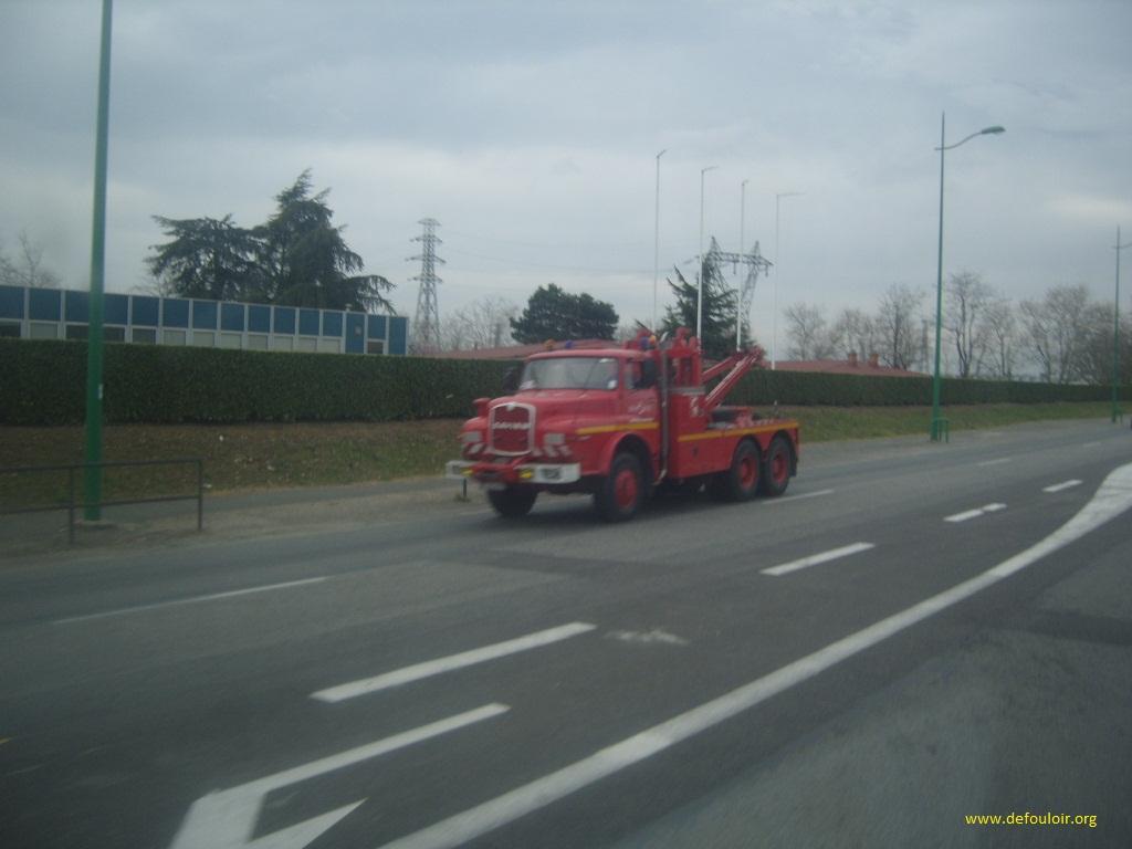Saviem des pompiers 78027saviem