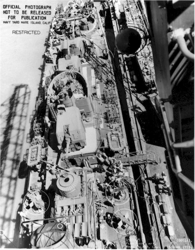 DD- 541 USS YARNELL 1/350, base Trumpeter 7834040554121