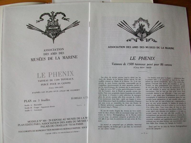 Plans du Phénix au 1/75 (aprés visite au Musée de la Marine) 79950017ofg39a20
