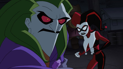 DC Animated Universe 8041Metal_Face_of_Comedy_01