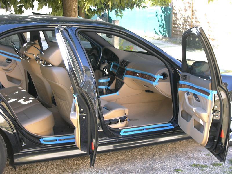 [BMW 530 d E39] Rénovation intérieure d'un Pack Sport M 806939P1000066