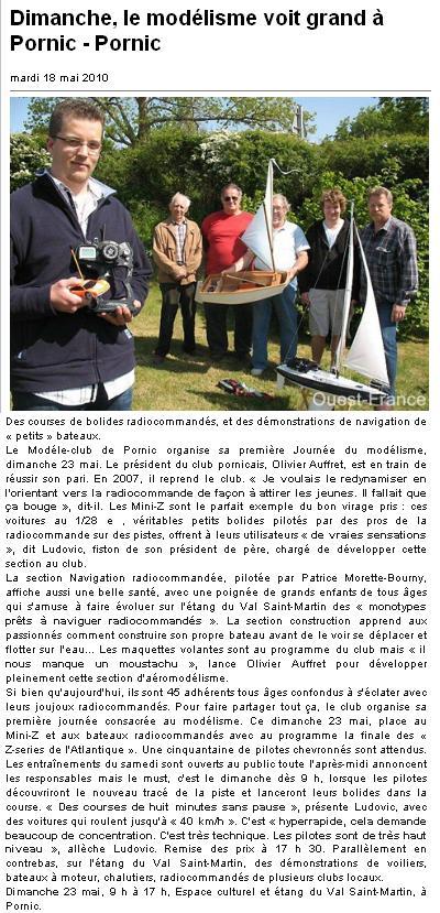 Nos apparition dans les journaux 810824article_ouestfrance_18.05.2010