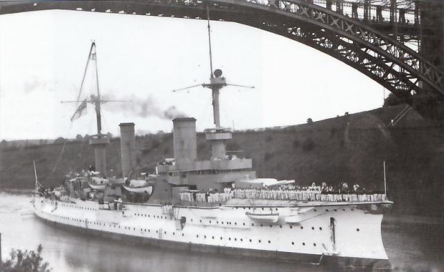 ALLEMAGNE CROISEUR DE BATAILLE SMS VON DER TANN 813287SMS_Furst_Bismarck