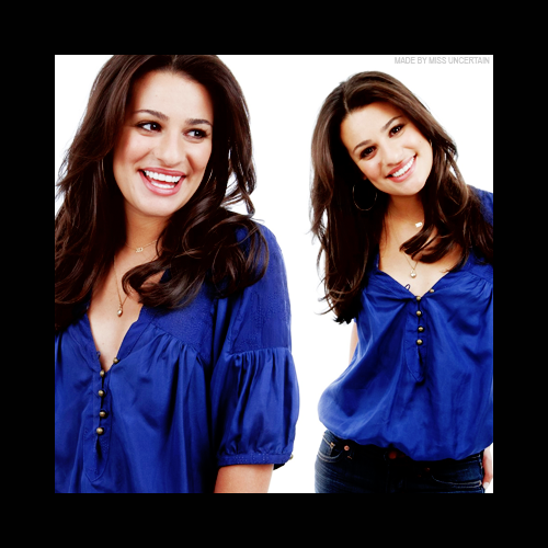 Cee ♣ that's what you missed on glee. 814722Banniere_Lea_Michele02