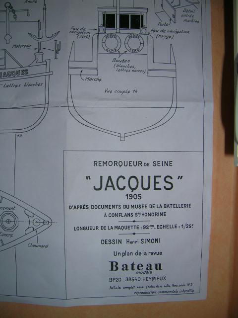 LE JACQUES Remorqueur fluvial scratch au 1/25 842153DSCN4949