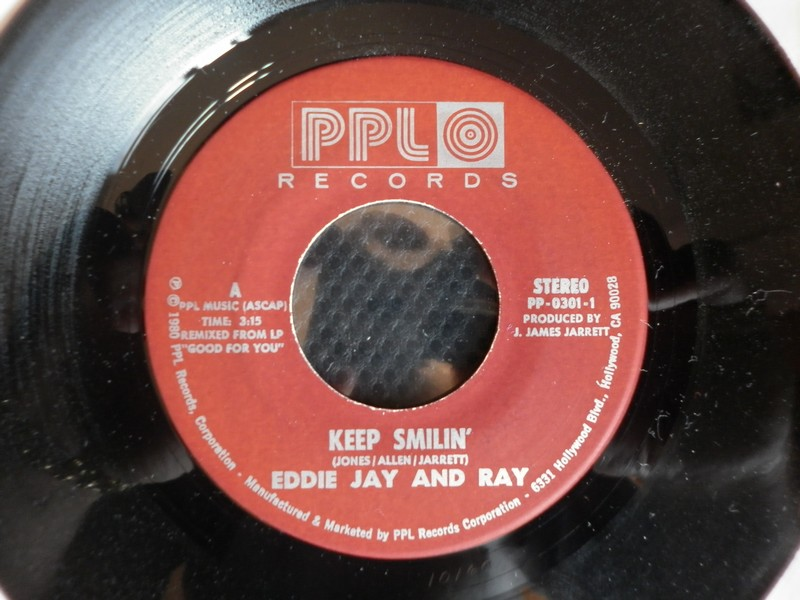 7'-EDDIE JAY & RAY-KEEP SMILIN-80-PPL REC 888531edij