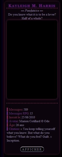 Demande de codes pour avatar, menu accueil, catégories et qui est en ligne 900124a
