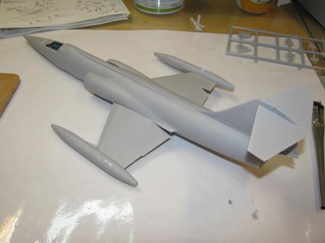 DUO: F-104N (NASA) + F-104G (BAF) Hazegawa 1/48  902189IMG_3393