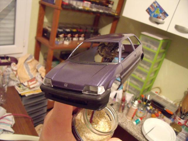 Honda Civic 1,5L GL de 1987. 911648MaTitineenmaquette031