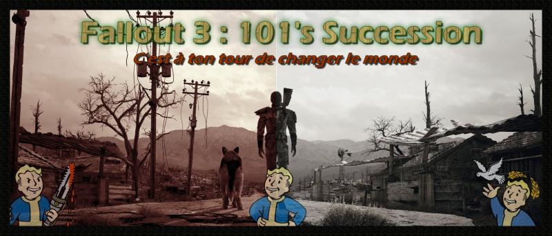Fallout 3 101's succesion