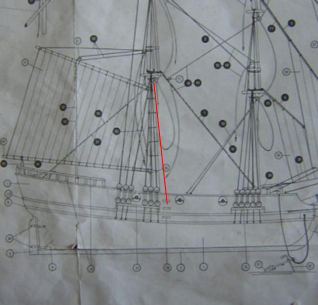 L'Union Brigantin Constructo au 1/100ème en bois - Page 3 927318dscn1518