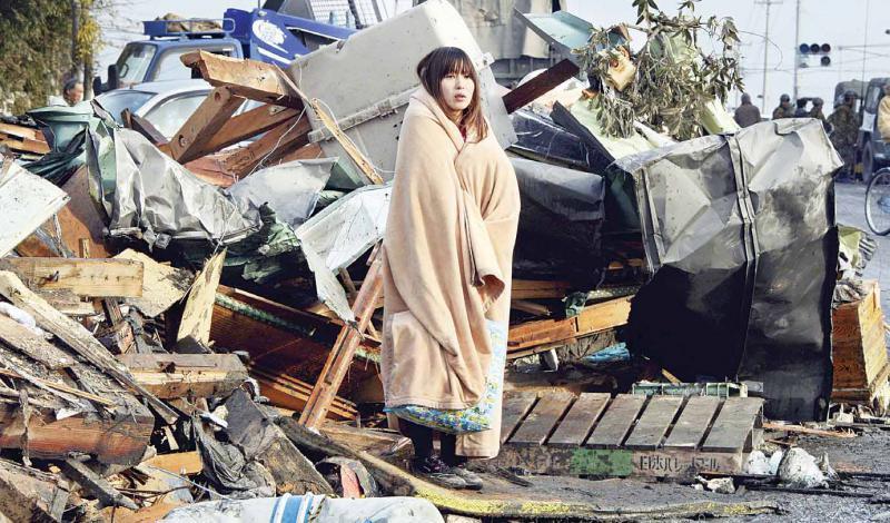 اليابان : كارثة تاريخية 93985614032011140320111