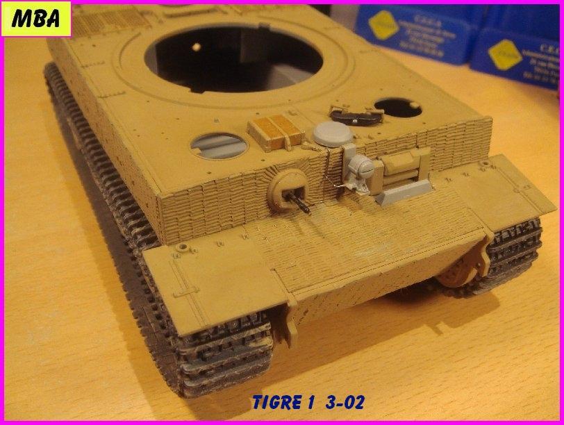 Char Tigre 1 au 1/35ème Dragon 945955tigre302
