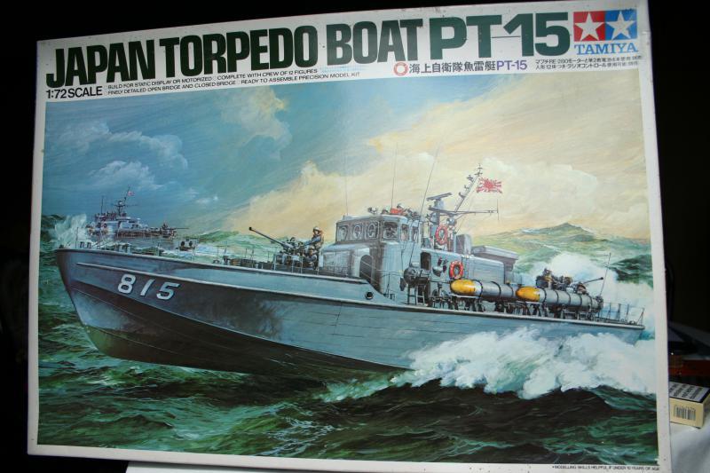 JAPAN TORPEDO BOAT PT-15  DE CHEZ TAMIYA   AU 1/72 950671Photo_014