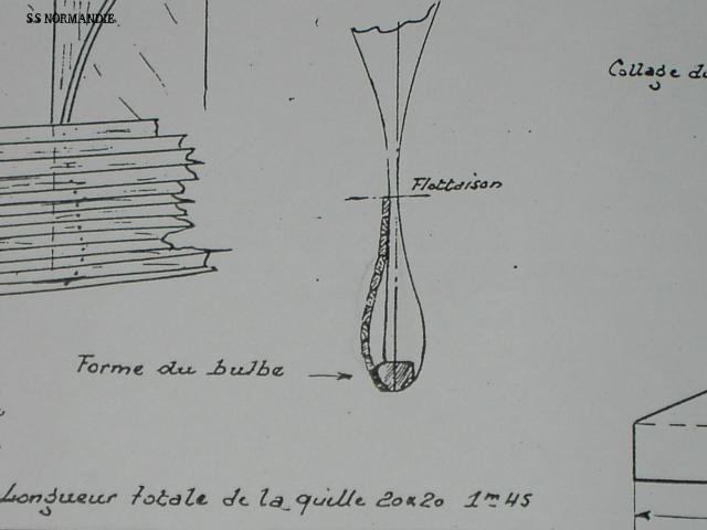 S.S Normandie  échelle 1/160 - Page 2 953534bULBE