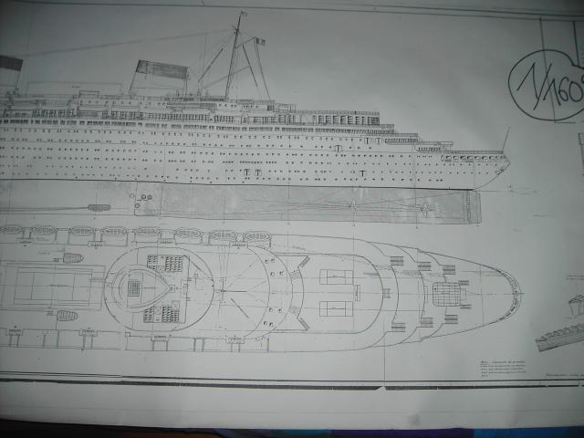 S.S Normandie  échelle 1/160 970661PICT1454