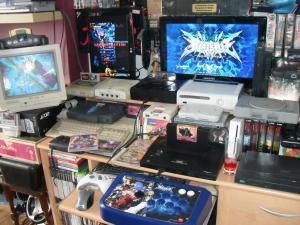 Ma collection de console avant l arrivée de ma blast Mini_215964SDC19937