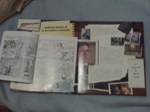 "Livre ""les extraordinaires aventures d'Indiana Jones"" Mini_734899PICT0022"