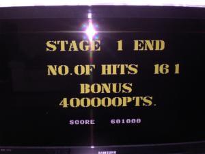 Jeu défi part II high score 5 Thunder Blade stage 1 Mini_741583CIMG2560