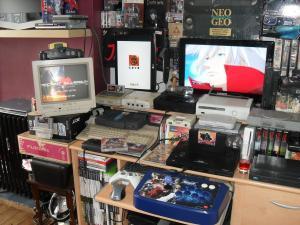 Ma collection de console avant l arrivée de ma blast Mini_743720SDC19935