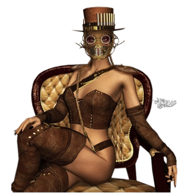La lady steampunkinette 111540Krystubes139348172053art