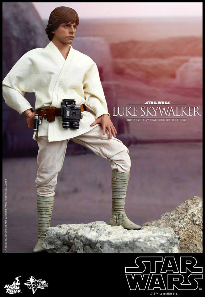 HOT TOYS - Star Wars: Episode IV A New Hope - Luke Skywalker 112001107