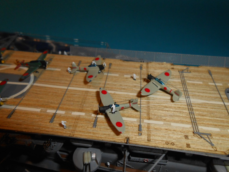 Akagi hasegawa 1/700 PE/pont en bois /babiolles 112005aka700fini047