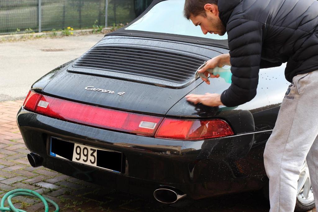 PORSCHE 993 Cabrio - Preparazione interna/esterna 1122480929