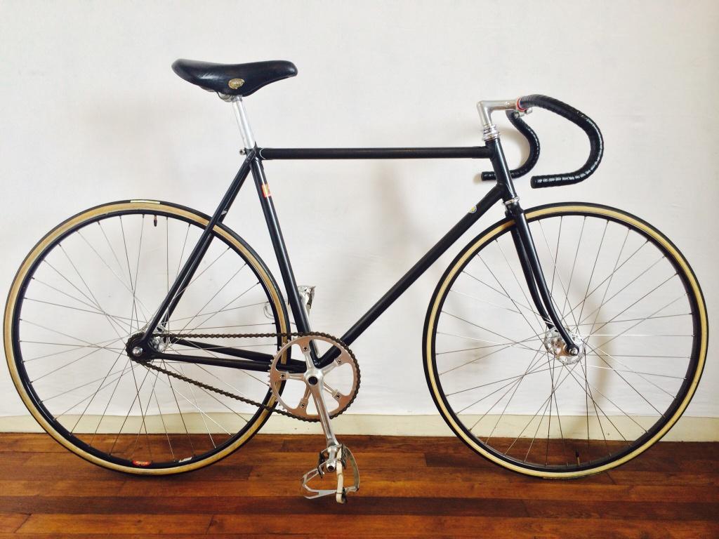 Vélo de piste Jean Marie Brun Tubes Columbus 113112image