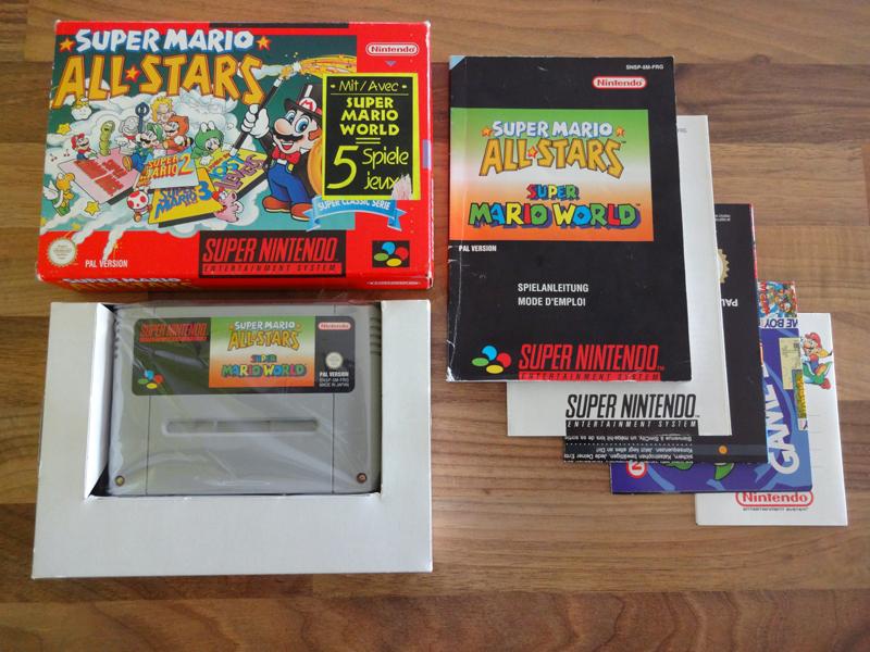 Prupru's Collection ! 100% Super Nintendo et 200% Super Comboy !! - Page 19 114164SuperMarioAllStarsandSuperMarioWorldFRG