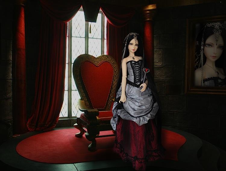 Nymeria (Sixtine Dark Tales Dolls) nouveau make-up p8 - Page 3 114393Reinerougeselve