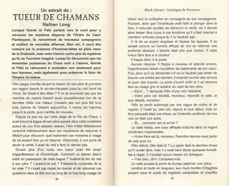Tueur de Shamans de Nathan Long 114444Tueurdechamans1