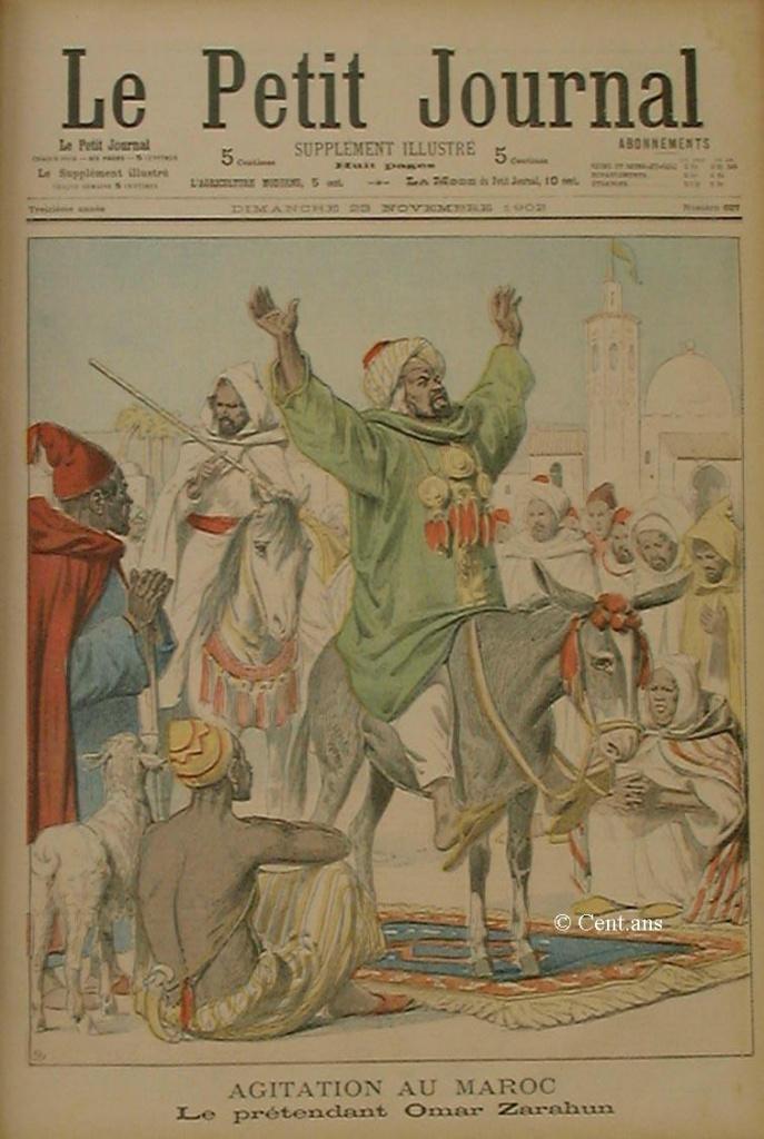 صفحات من تاريخ المغرب الحديث من خلال Le Petit journal illustré 114754pj62723111902
