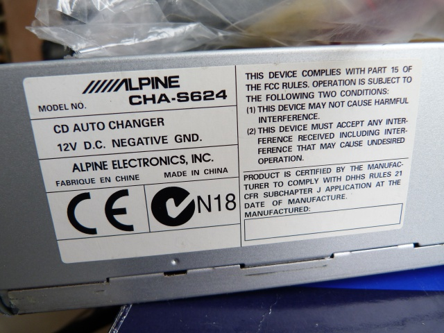 //////Alpine CTA 1505, un super tuner pour un système évolutif! 114789P1130636