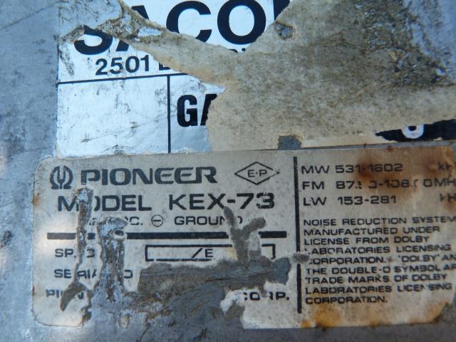 VW T3 1982 (Acte II), Pioneer Component 1982 115097P1230744