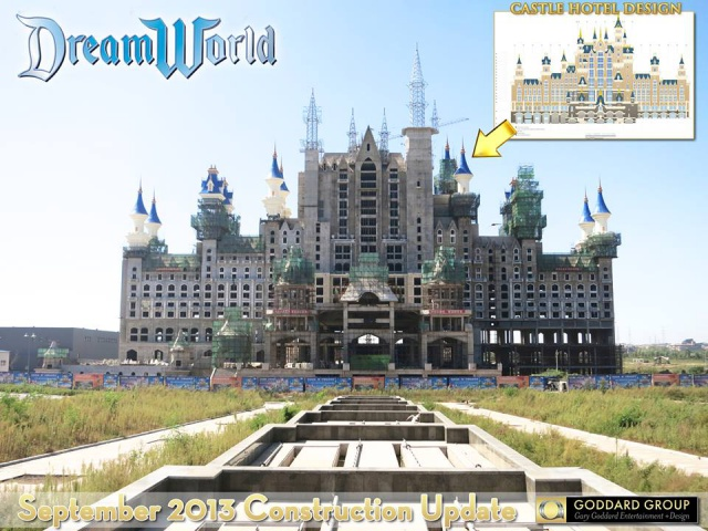 (Chine) Fushun DreamWorld Theme park, Hotel & Resort (201?) 115394fdw7