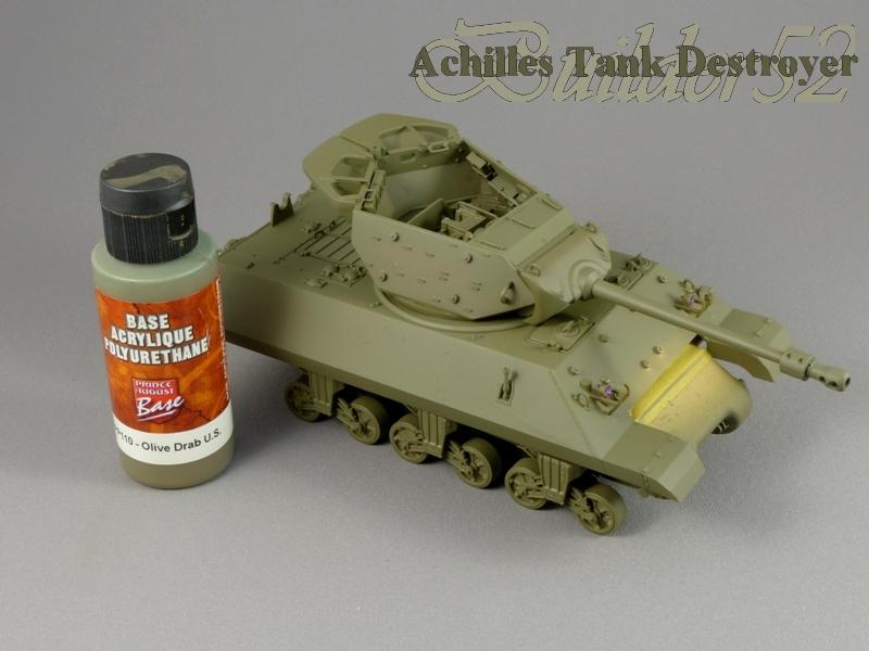 Achilles Tank Destroyer - Academy-Italeri + RB Model + set Blast 1/35 117411P1030804