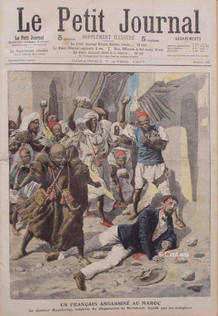 صفحات من تاريخ المغرب الحديث من خلال Le Petit journal illustré 117516pj85507041907