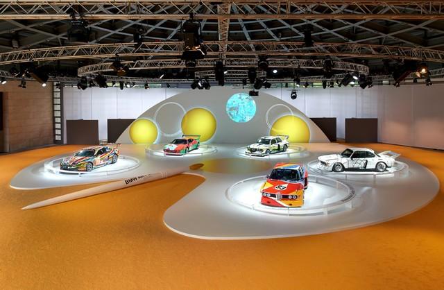 BMW célèbre ses 40 ans de BMW Art Cars 118151P90185156