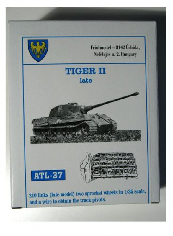 Chenilles Friul pour jagdtiger dragon 1/35 (porsche type) 11840483i3