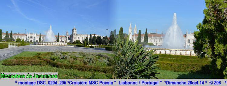 Z06 / C/R MSC.... Poesia 21/10 au 30/10 2014   Gêne Malaga Casablanca Lisbonne Barcelone Marseille 118559montageDSC0204205