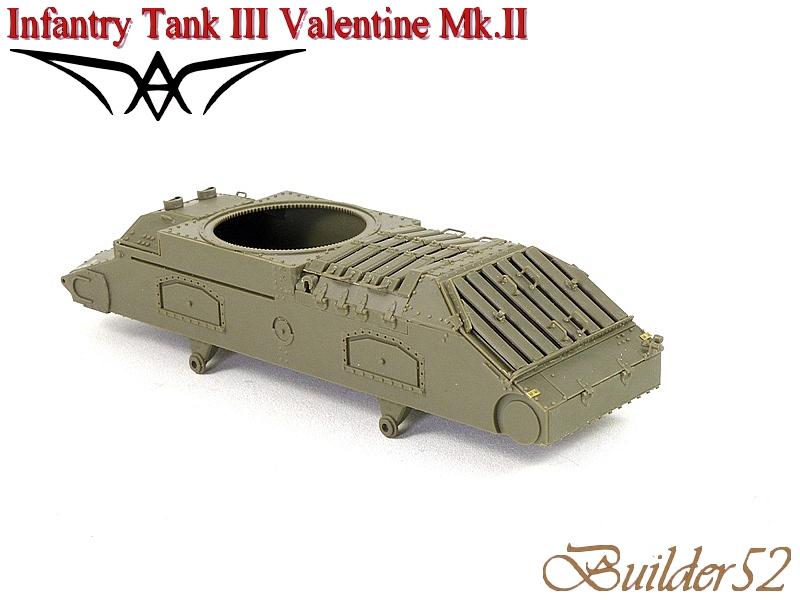 Infantry Tank III Valentine Mk.II - AFV CLUB 1/35 119658P1050336