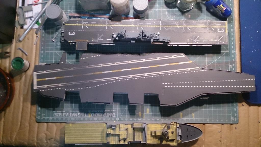 USS Theodore ROOSEVELT CVN-71 [Trumpeter 1/700] 120176cvn7112
