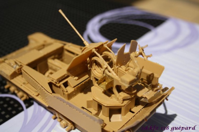 sd.kfz 140 flakpanzer (gépard) maquette Tristar 1/35 120872IMG1623