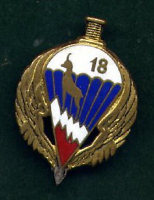 Insignes du 18 12179418RIPC