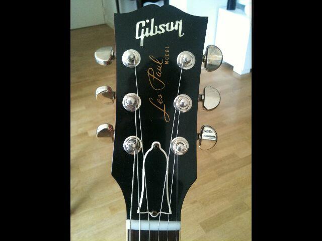 Gibson Les Paul Jimmy Page #2 176/200 123221LPtteface